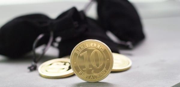 Unsere BERNHARDS Münzen als hochwertige Geschenkidee